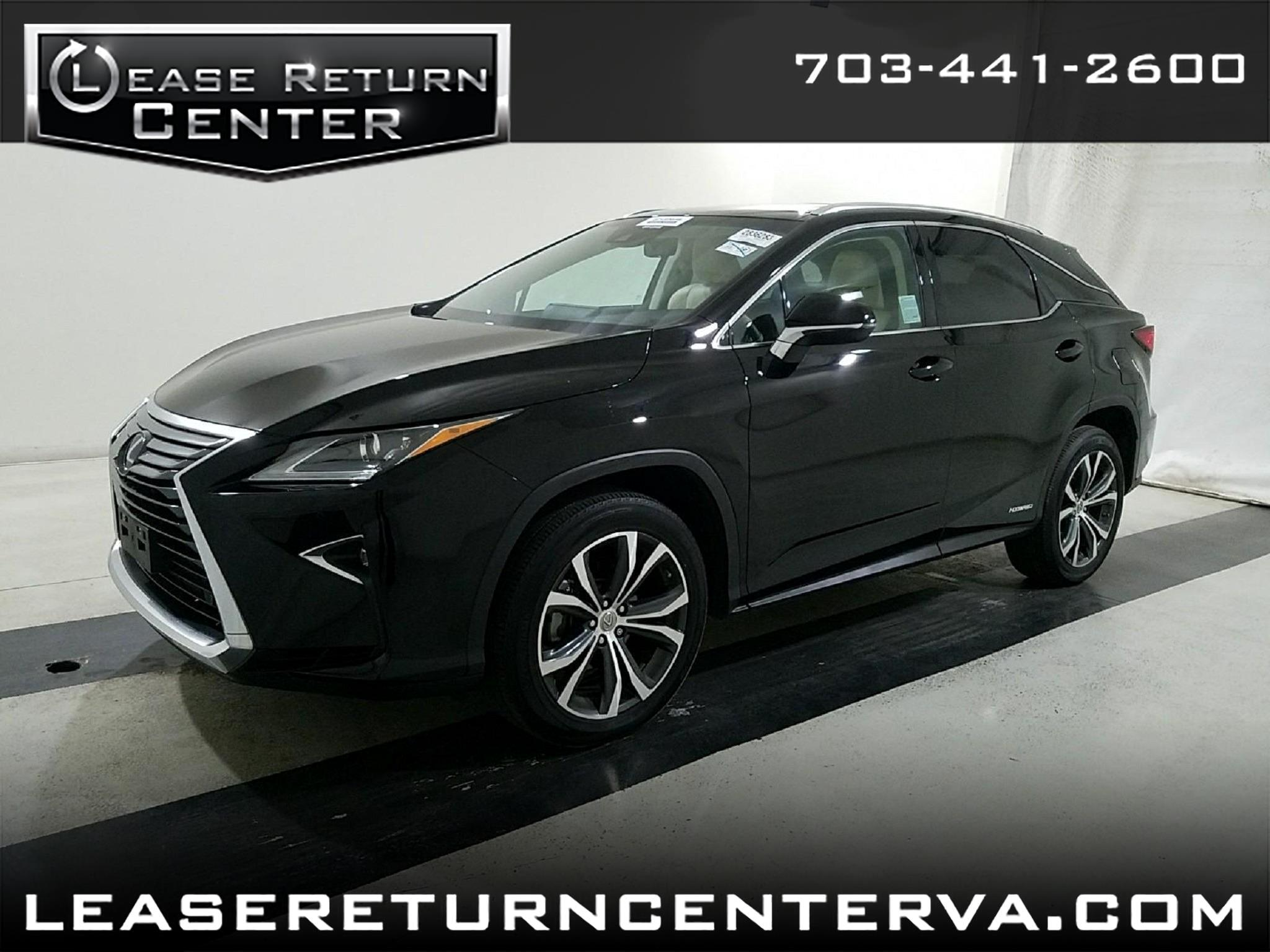 2016 Lexus RX 450h Luxury Package