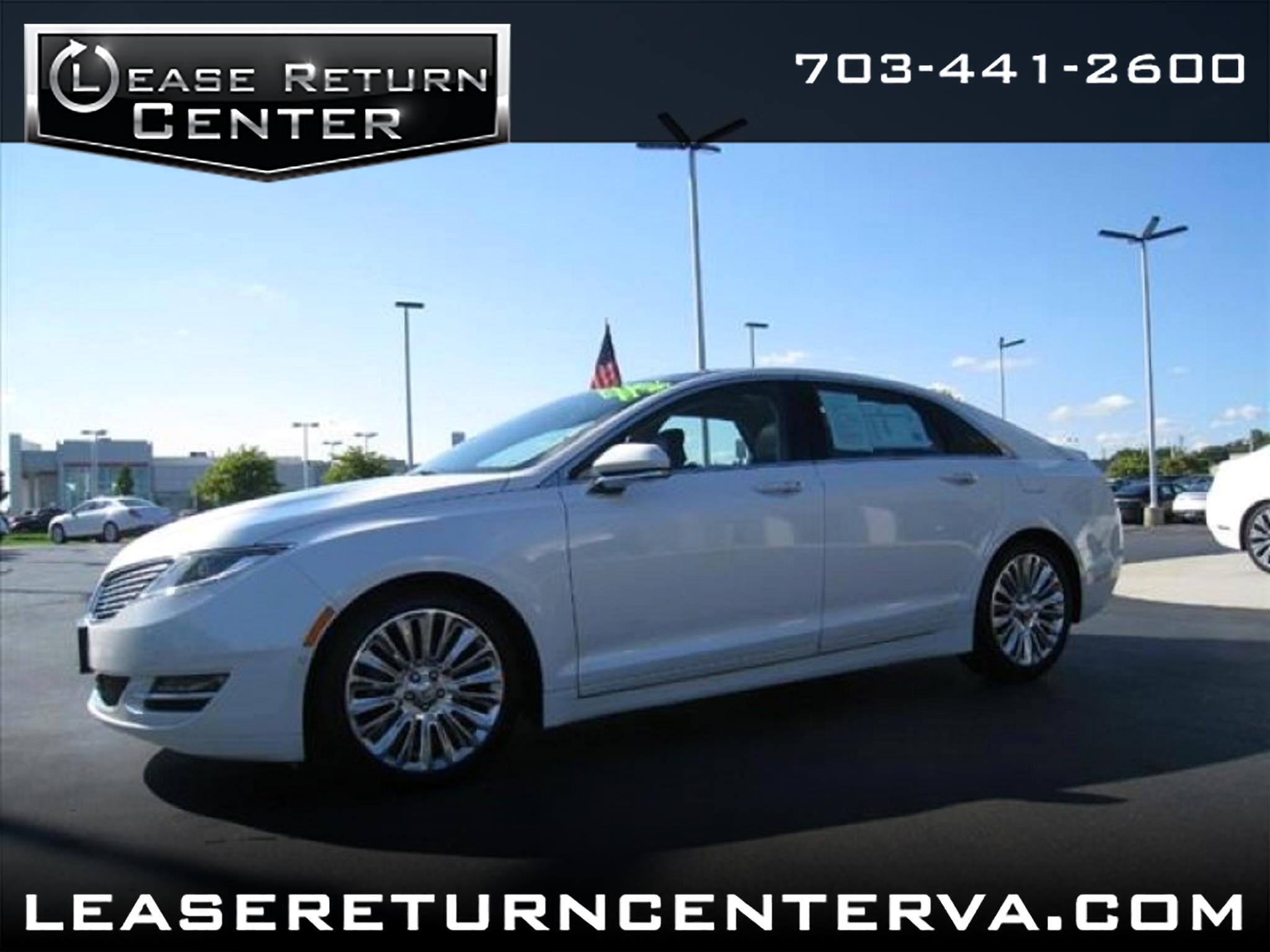 2015 Lincoln MKZ AWD Sdn Navigation System With Panoramic Roof
