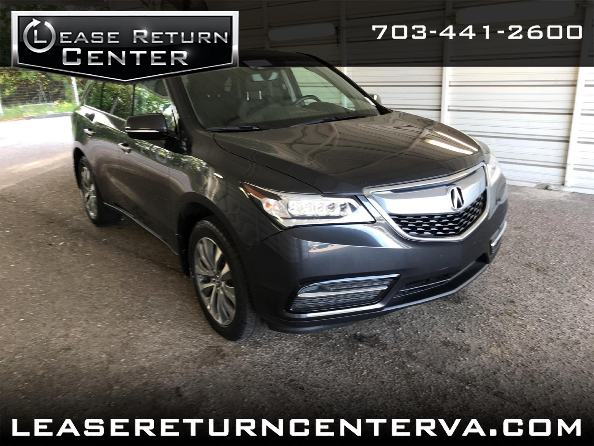 2016 Acura MDX Navigation System With Acuara Watch Plus