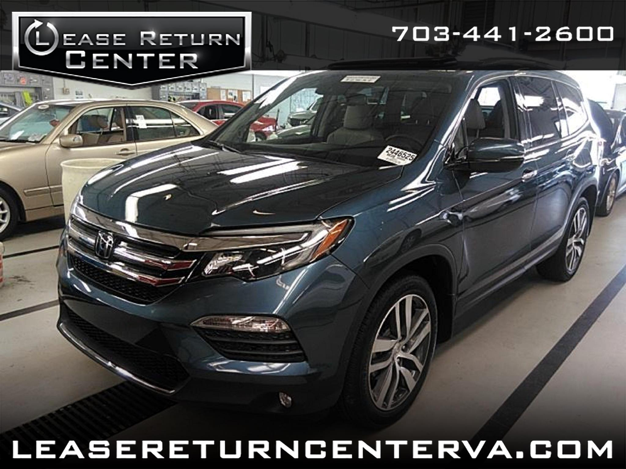 2016 Honda Pilot Touring with Navigation and DVD Entertainment syst