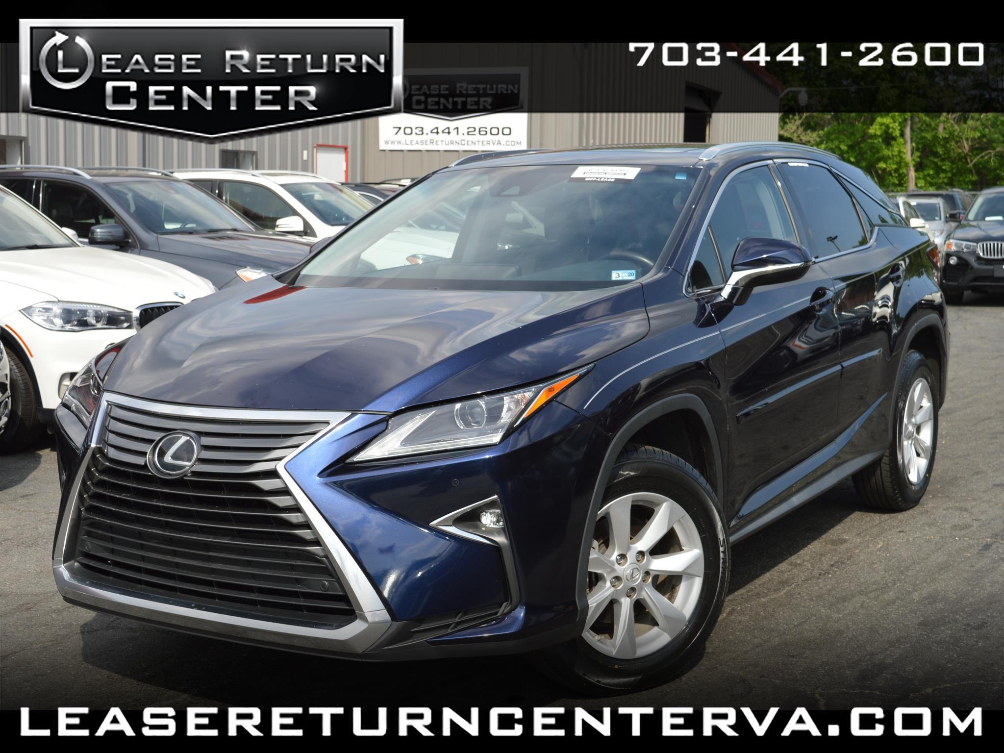 2016 Lexus RX 350 AWD With Navigation System