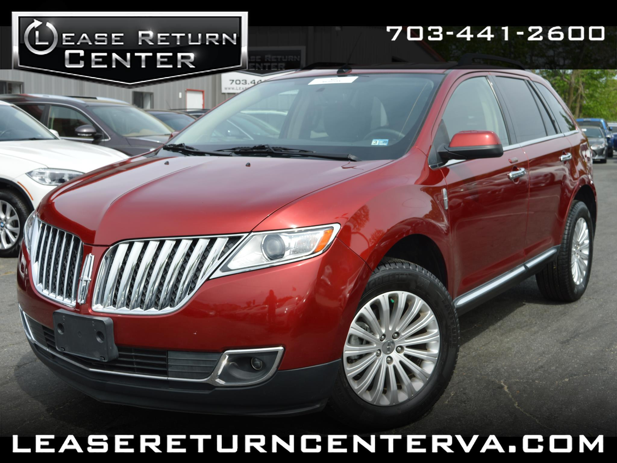 2015 Lincoln MKX Luxury Package