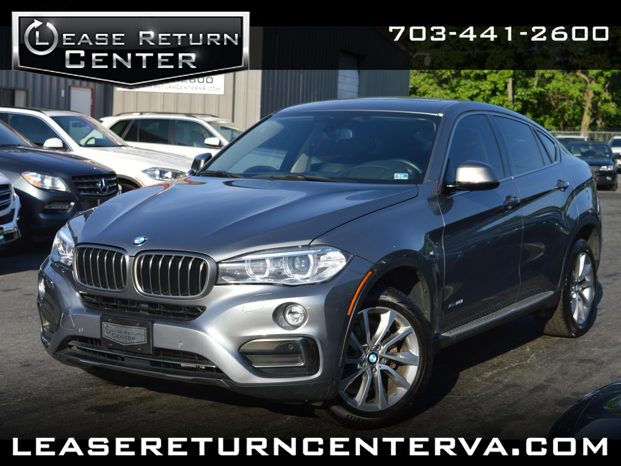 2016 BMW X6 AWD 4dr xDrive35i