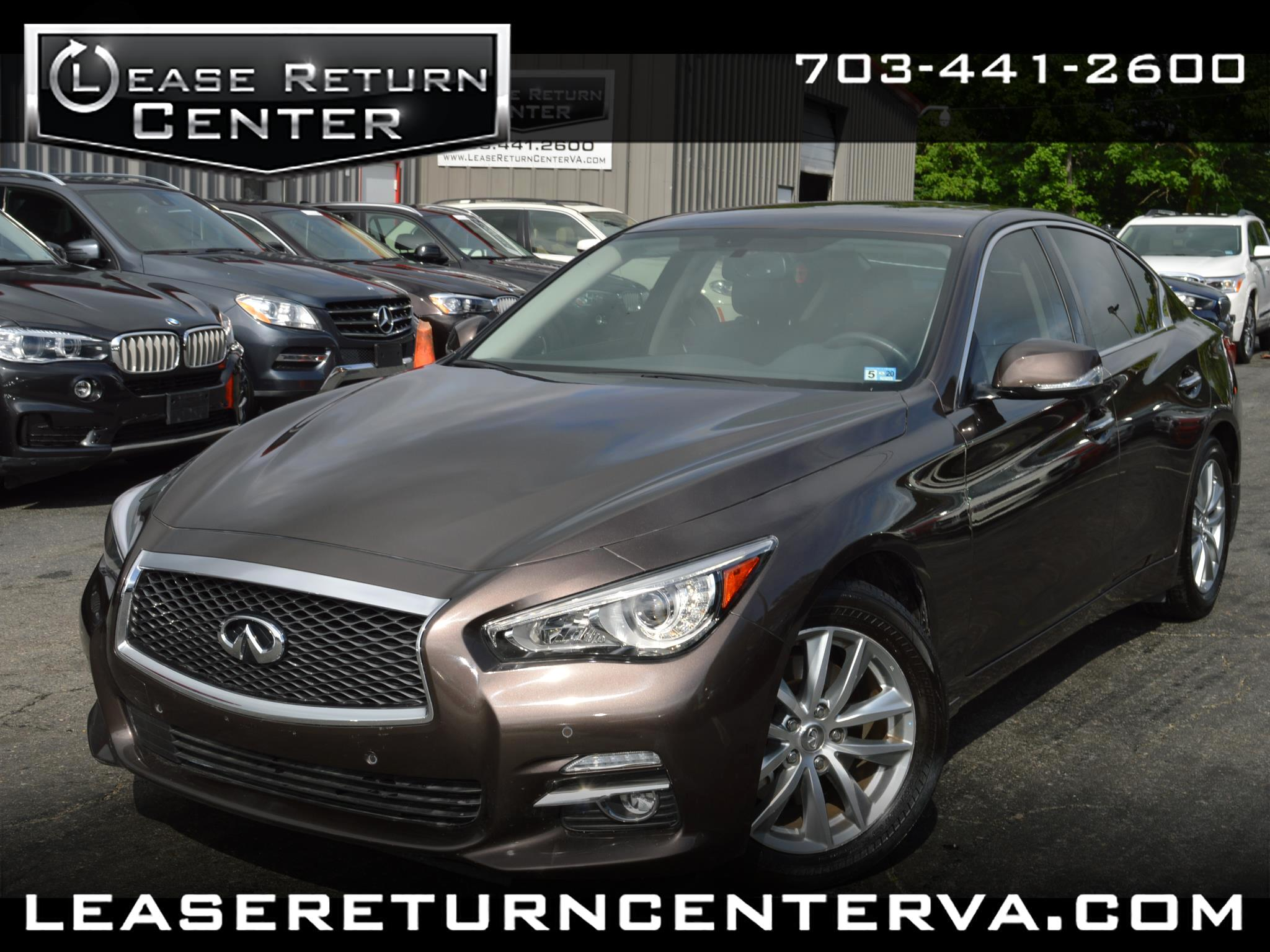 2017 Infiniti Q50 3.0t Premium With Navigation System