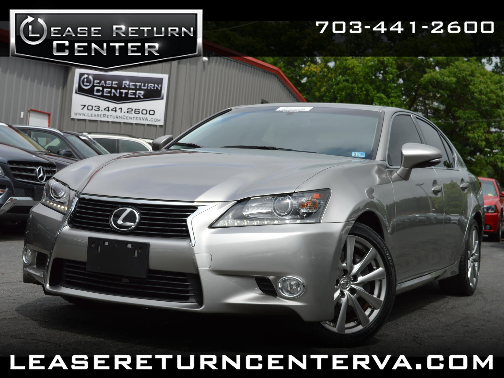 2015 Lexus GS 350 Premium Package With Navigation System