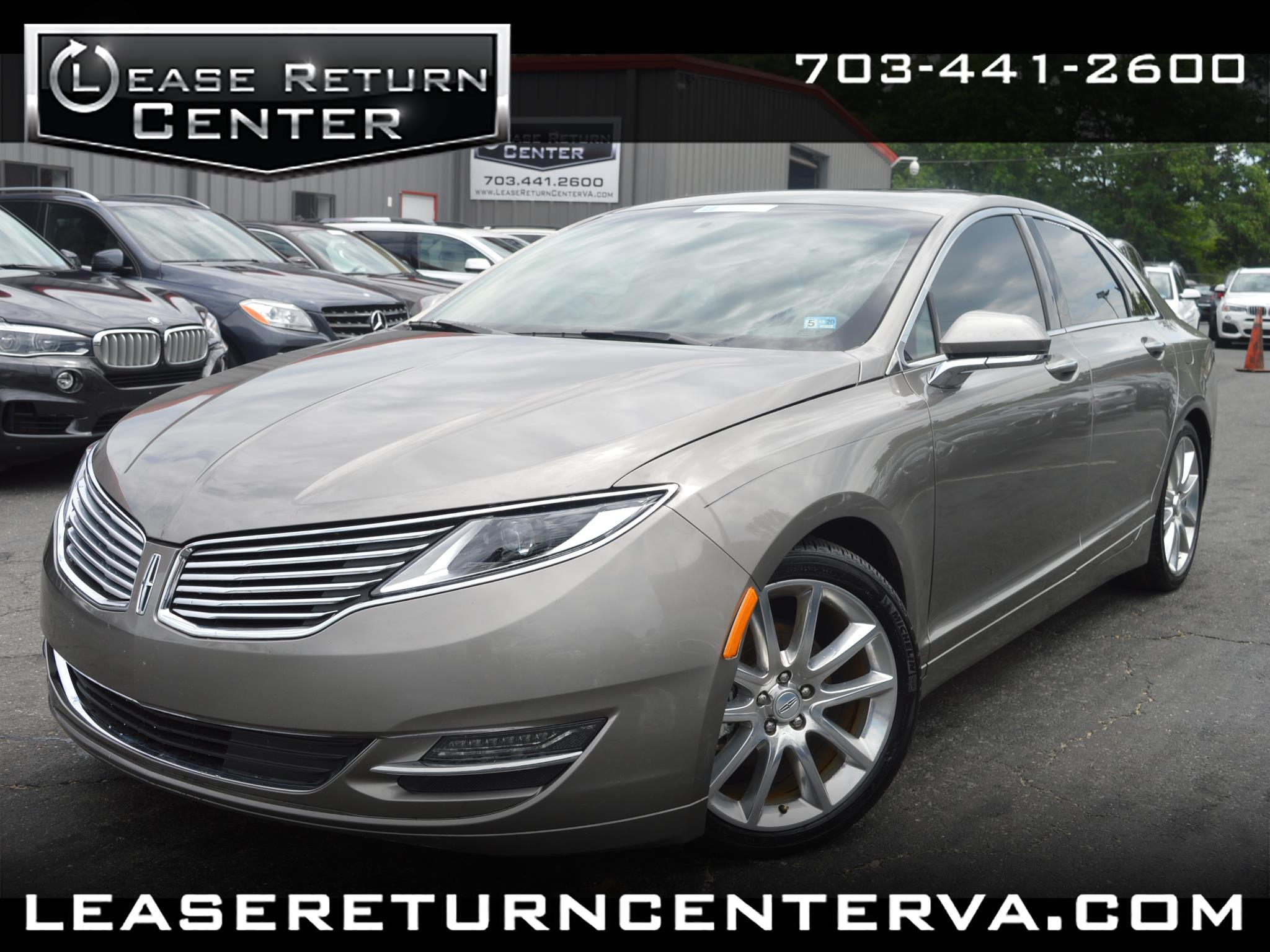 2016 Lincoln MKZ 4dr Sdn Hybrid FWD