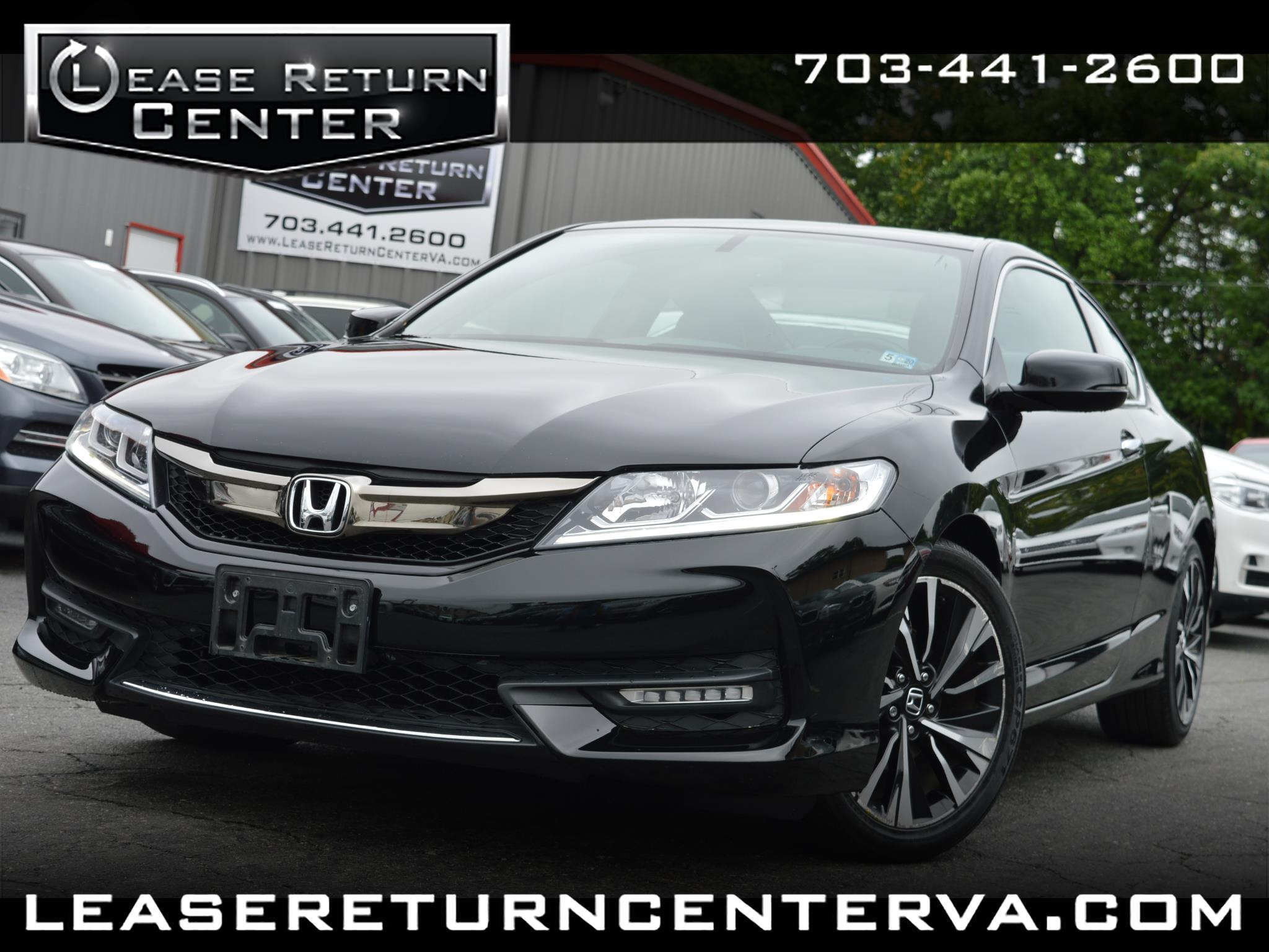 2016 Honda Accord Coupe 2dr I4 CVT EX-L