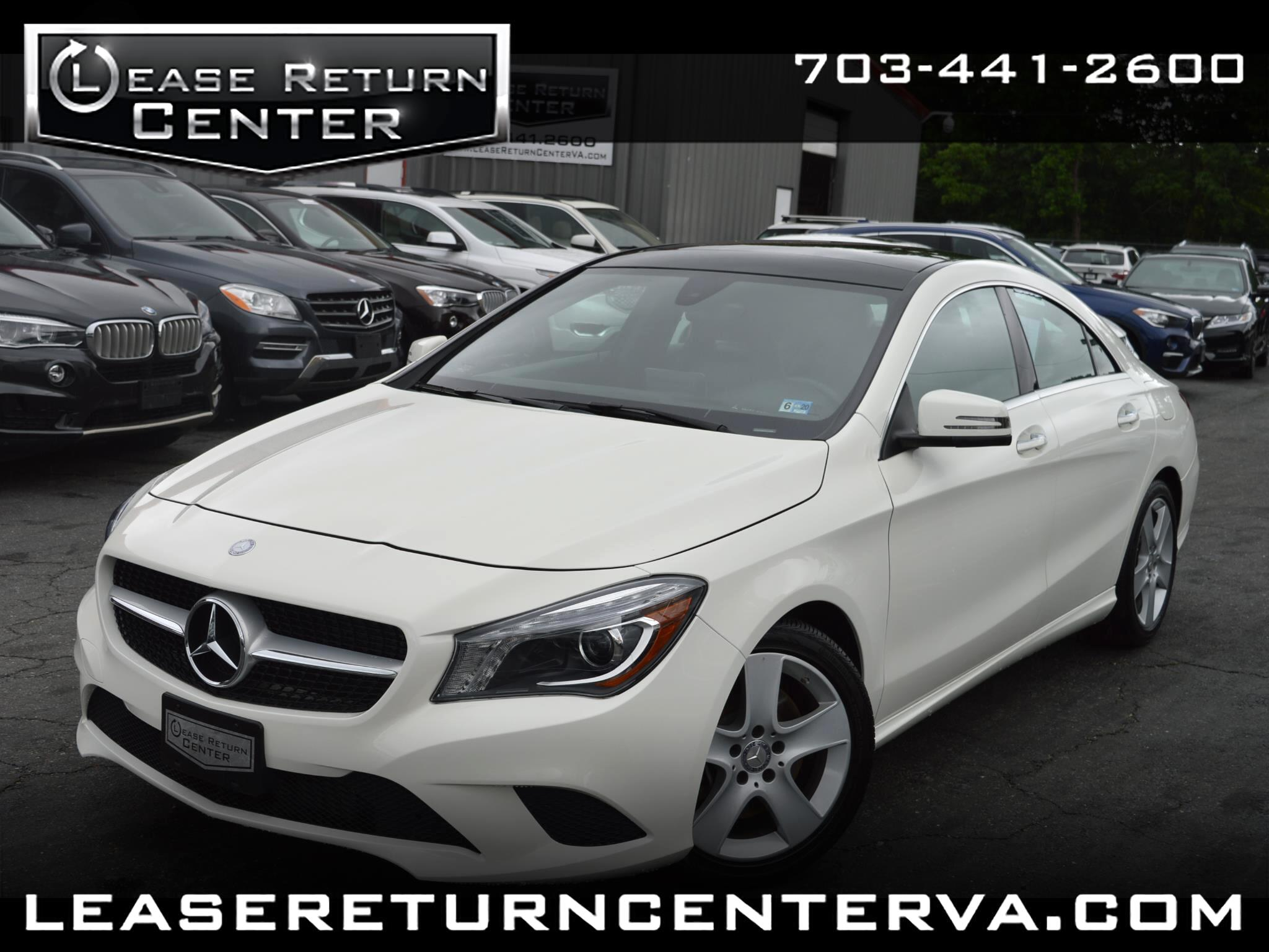 2015 Mercedes-Benz CLA-Class CLA 250 Panoramic Roof With Navigation System
