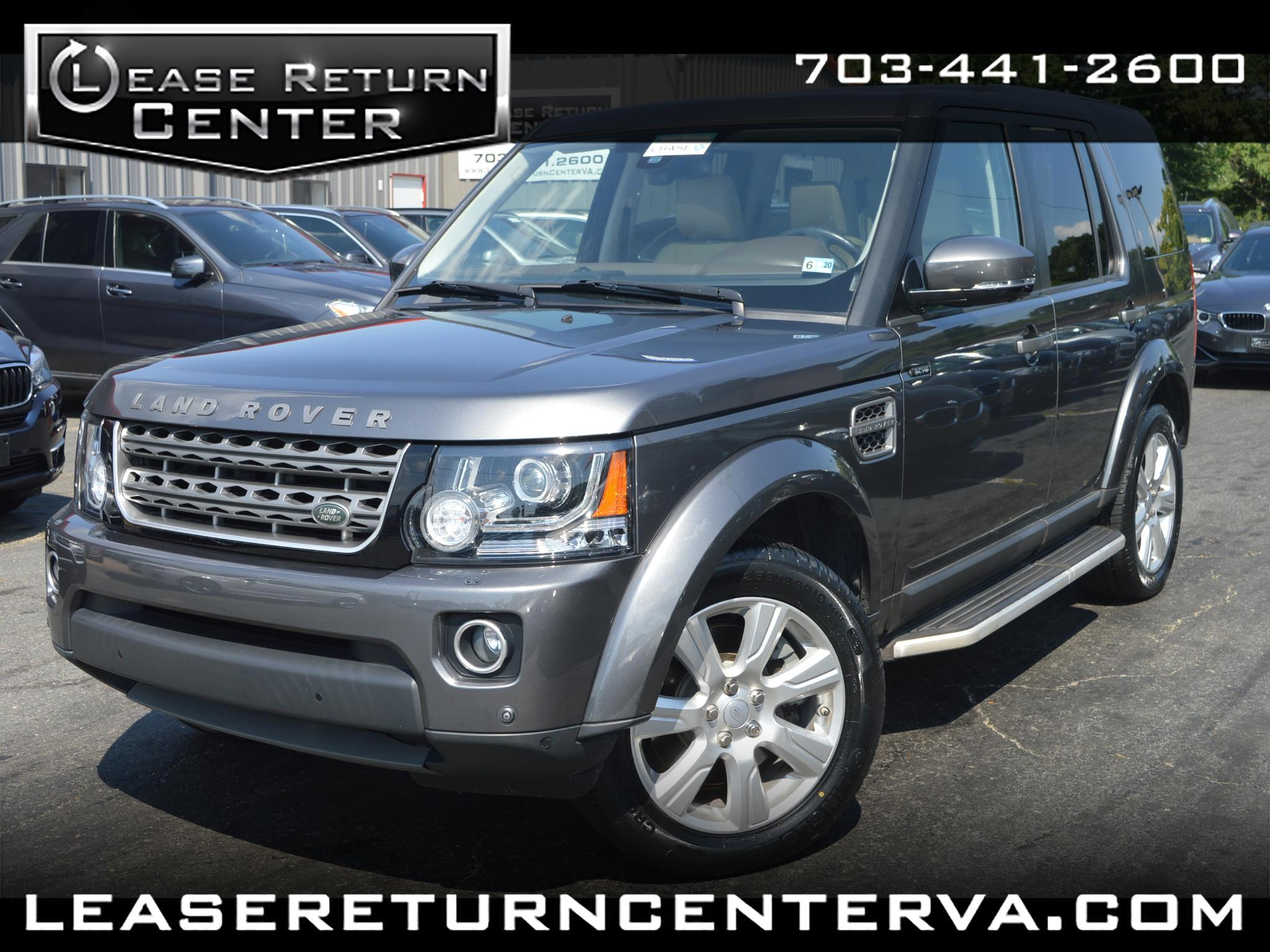 2016 Land Rover LR4 4WD 4dr HSE Silver Edition