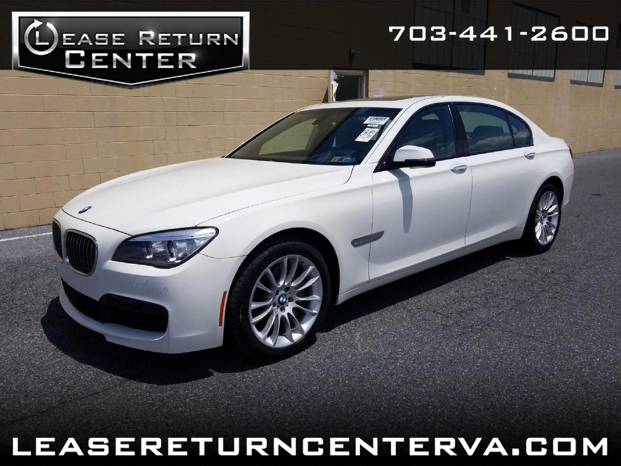 2014 BMW 7 Series 740LI Msport Package