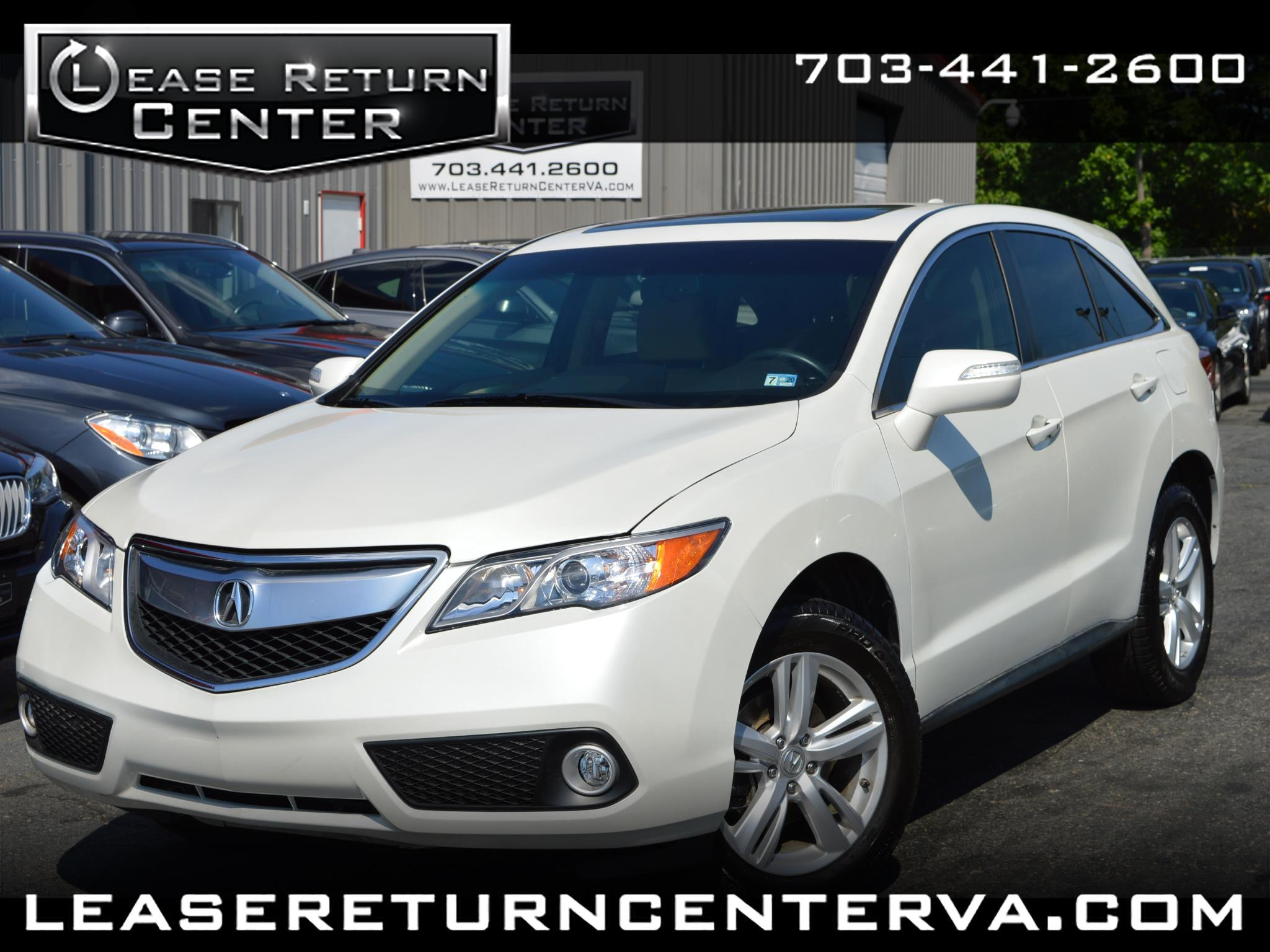 2015 Acura RDX Tech Package