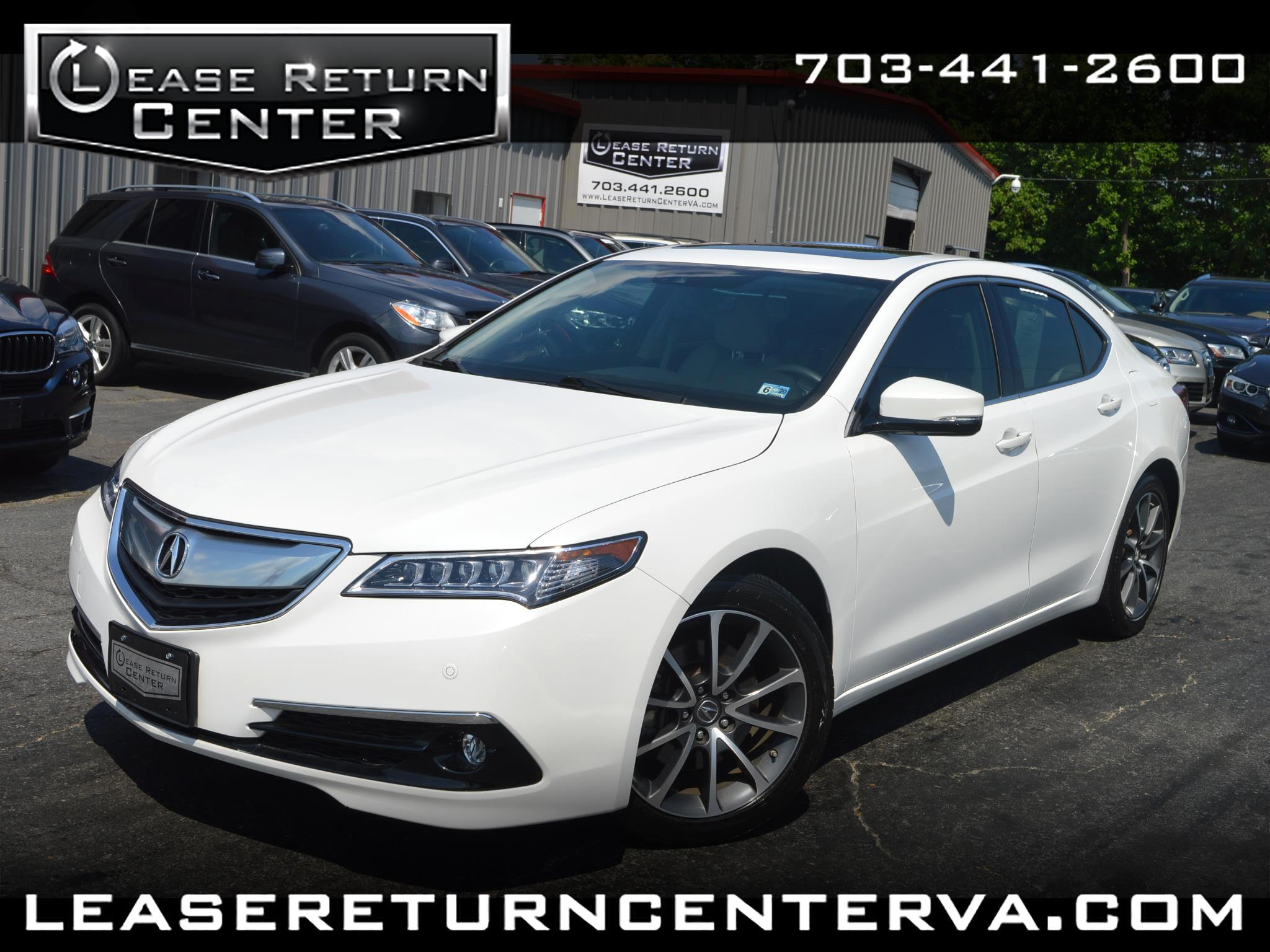 2015 Acura TLX V6 Advance With Navigation System