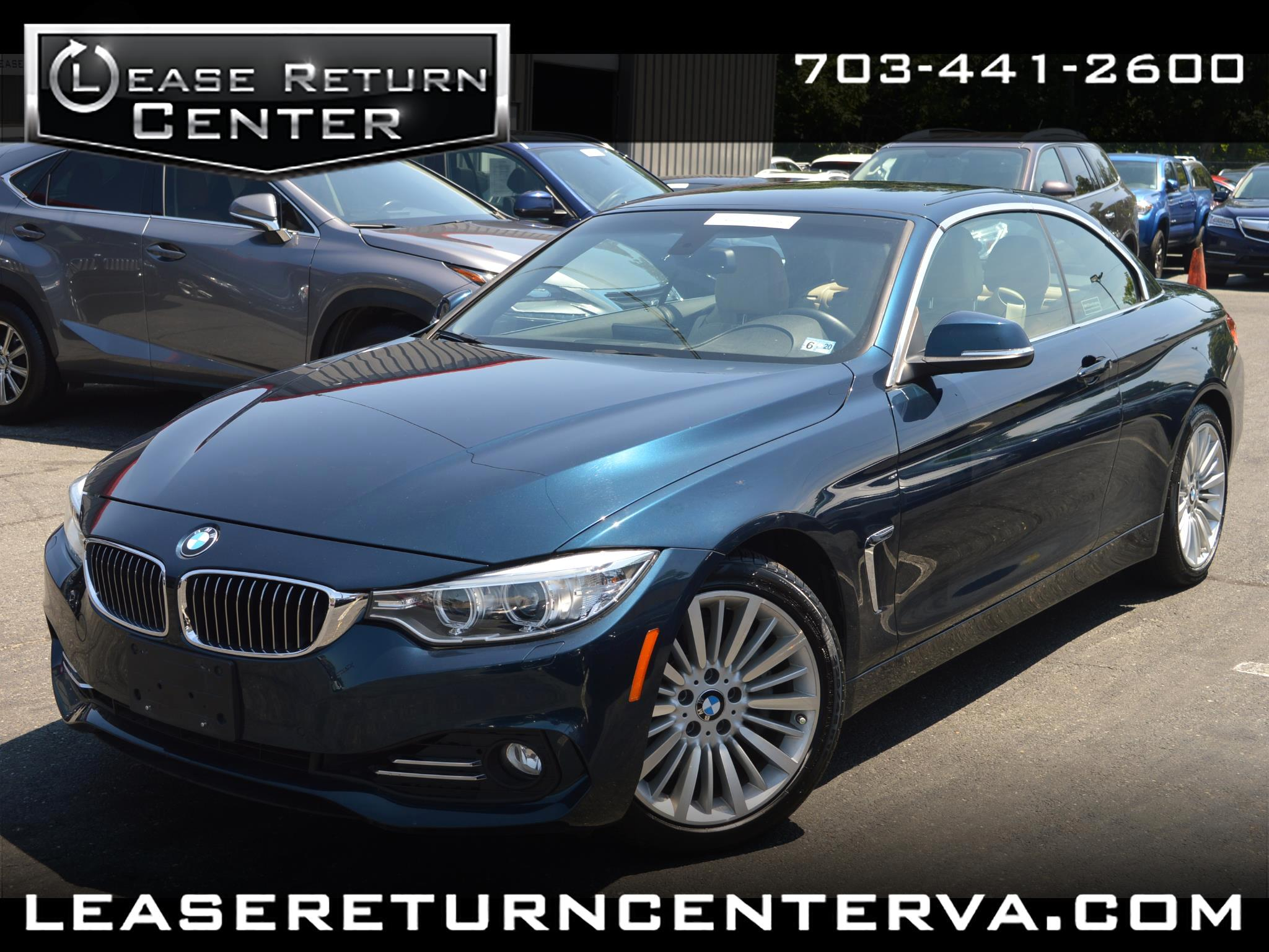 2014 BMW 4 Series 435 Convertible With Navigation System