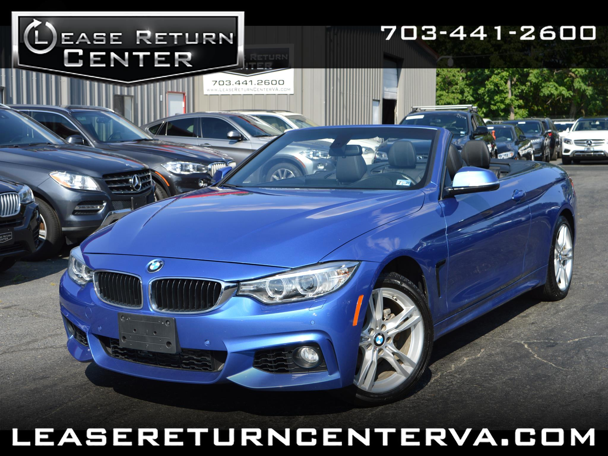 2016 BMW 4 Series Conv 428i xDrive AWD Msport Package