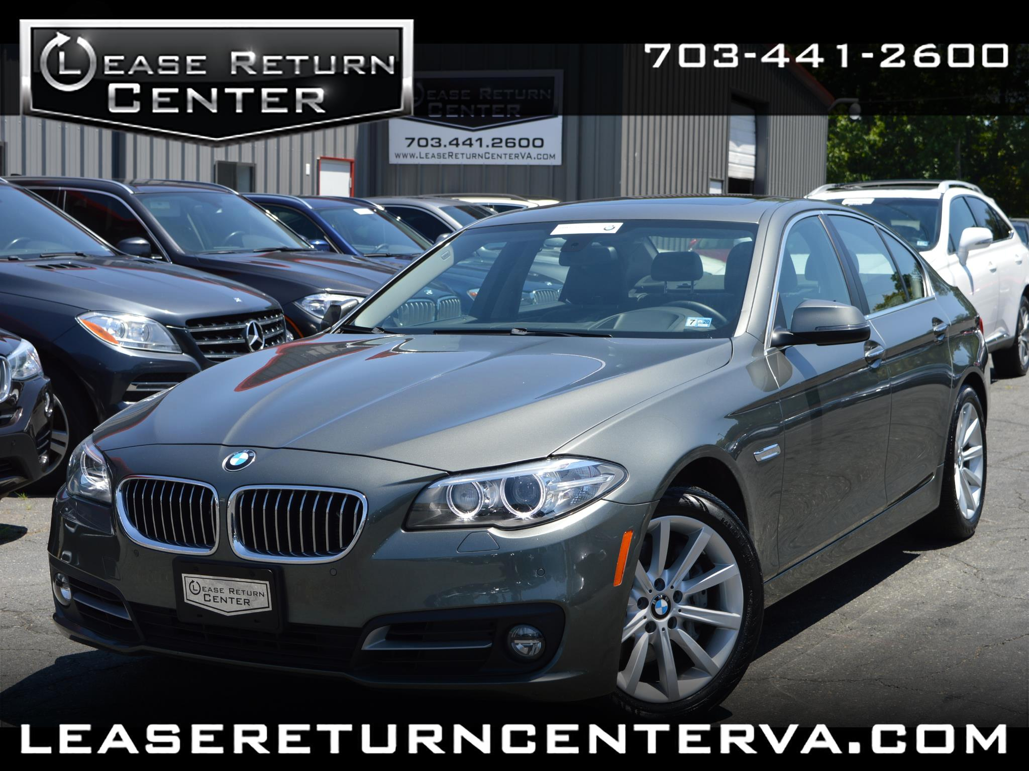 2015 BMW 5 Series 535i With Navigation System