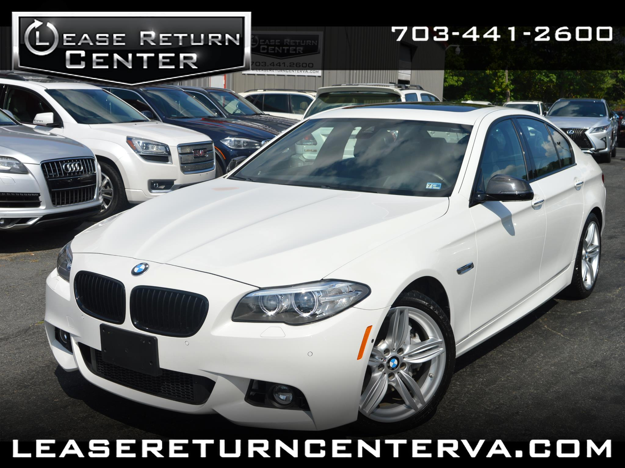 2016 BMW 5 Series 4dr Sdn 550i xDrive AWD