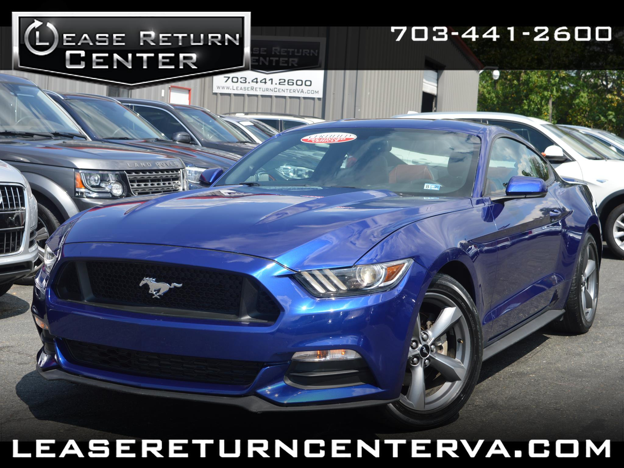 2016 Ford Mustang 2dr Fastback EcoBoost Premium