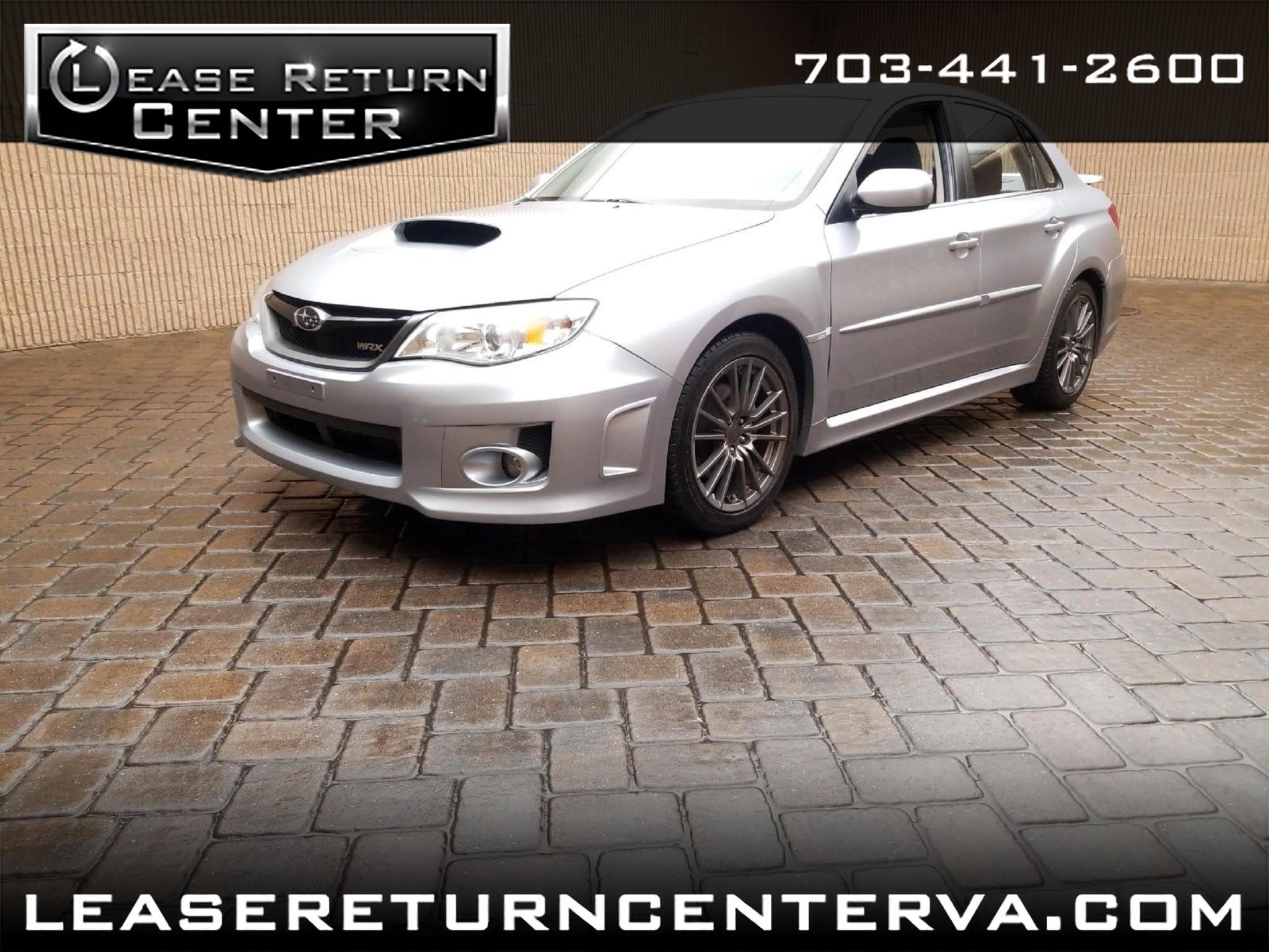 2014 Subaru Impreza Sedan WRX 4dr Man WRX Premium