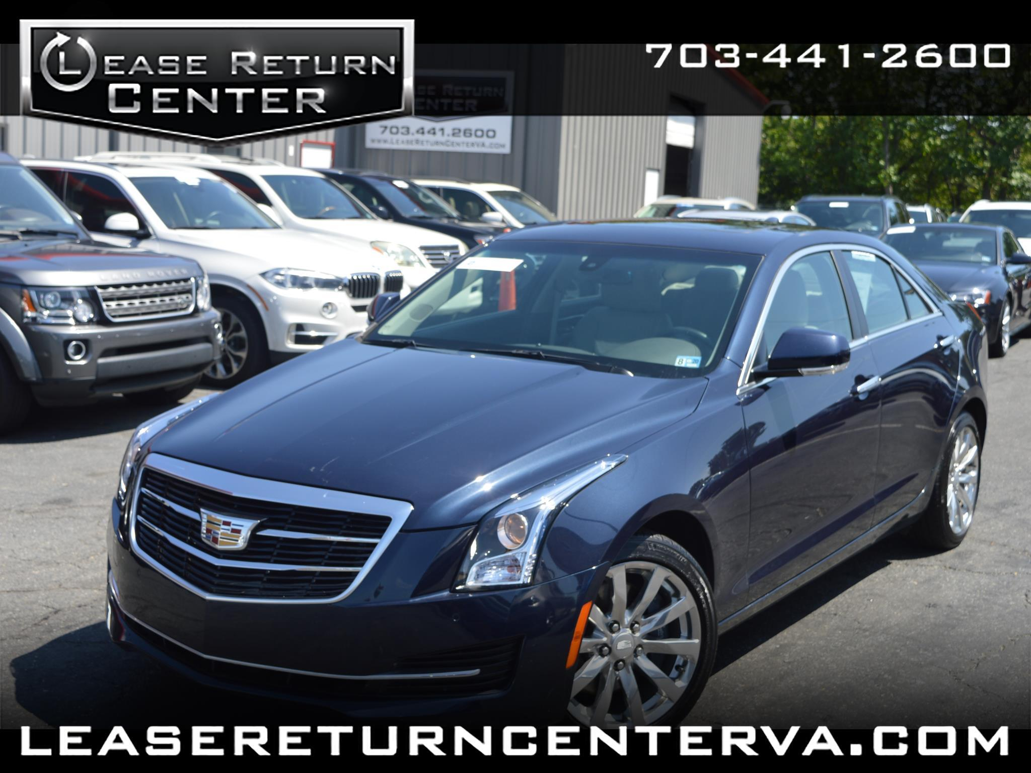 Cadillac ATS Sedan 4dr Sdn 2.0L Luxury AWD 2017
