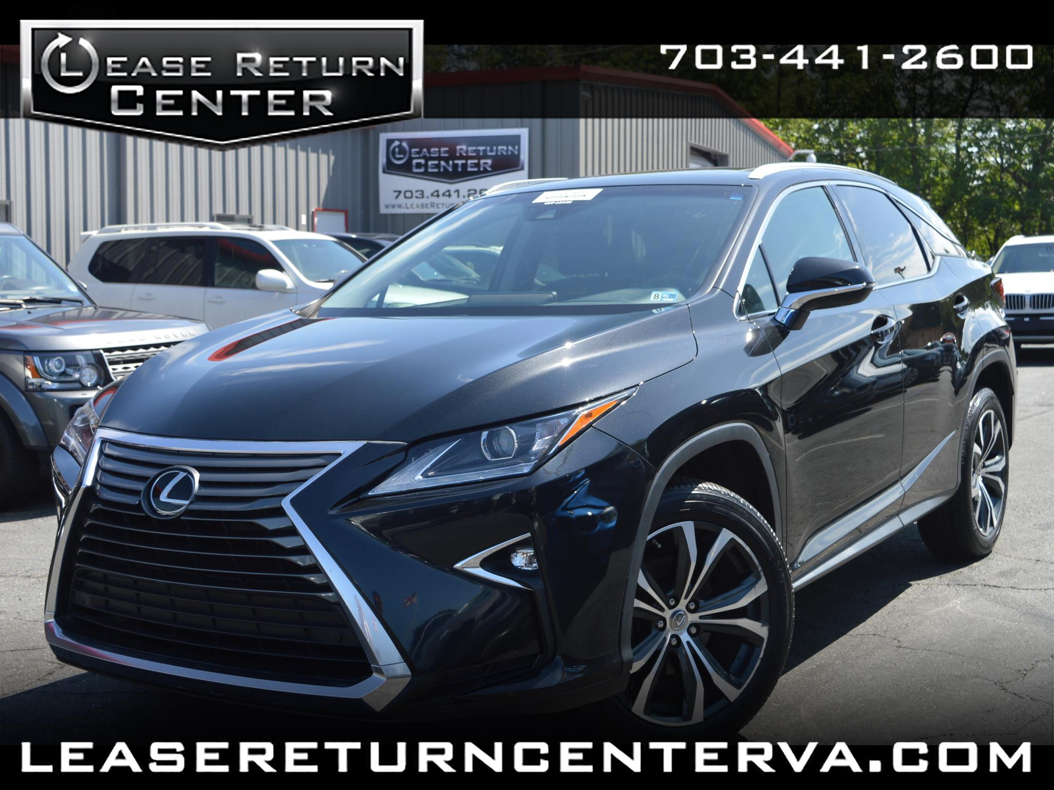 2016 Lexus RX 350 Luxury Package With Navigation System