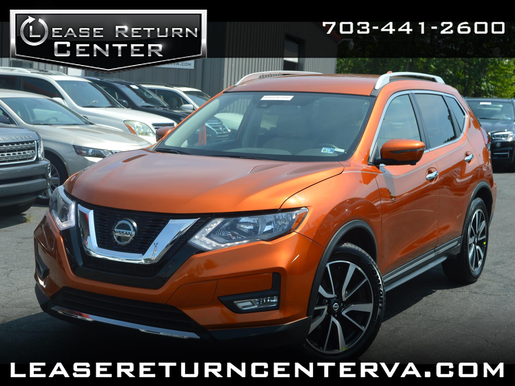 2019 Nissan Rogue SL NAV LEATHER