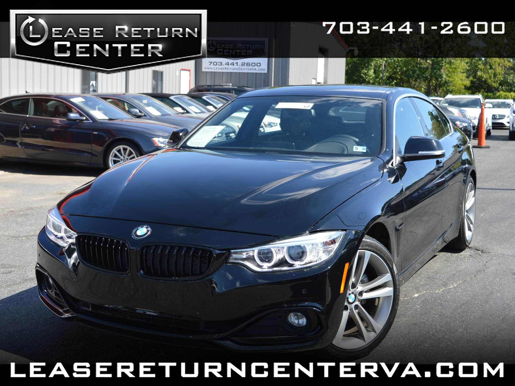 2016 BMW 4 Series 4dr 428i Gran Coupe Sports Line with Navigation