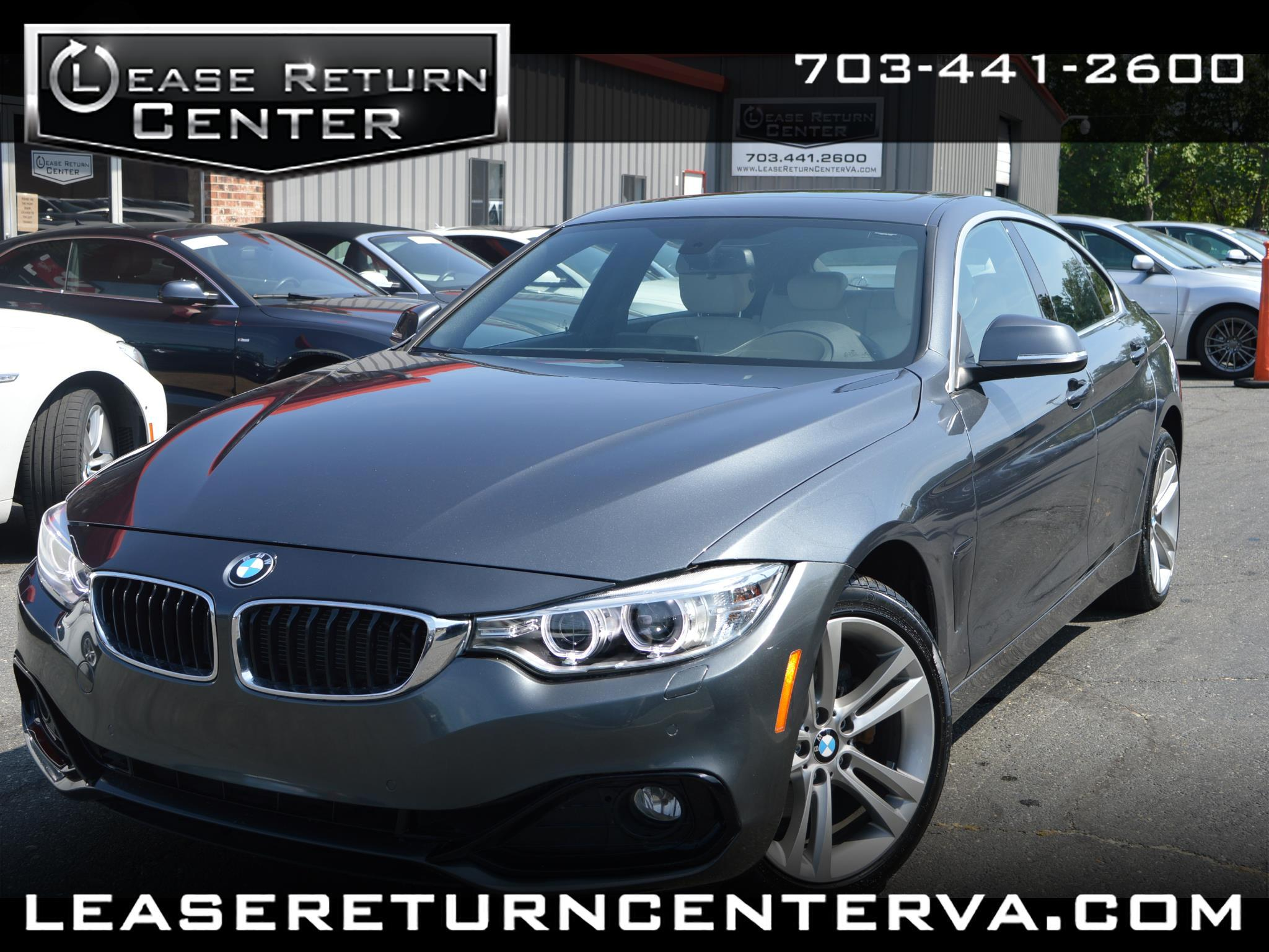 2016 BMW 4 Series 428i xDrive AWD Gran Coupe With Navigation System
