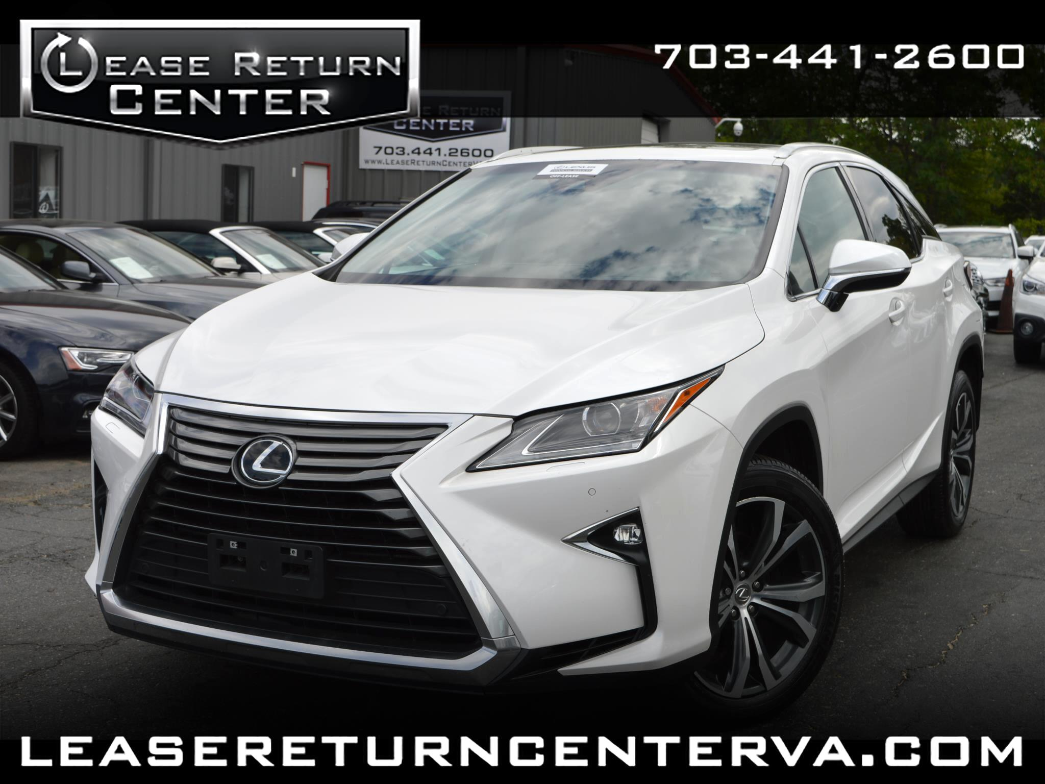 2017 Lexus RX AWD Premium with Navigation