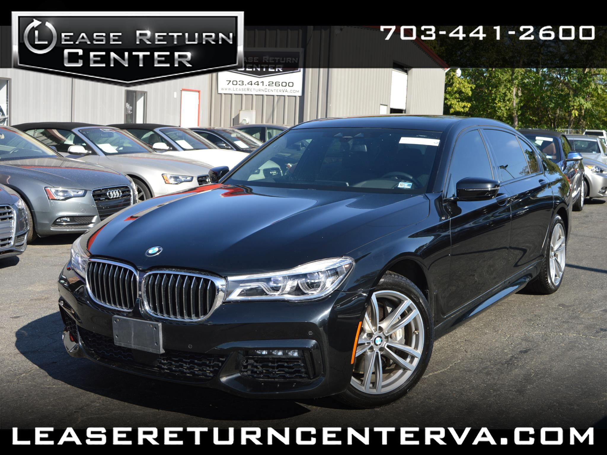 2016 BMW 7 Series 750i xDrive Msport Package