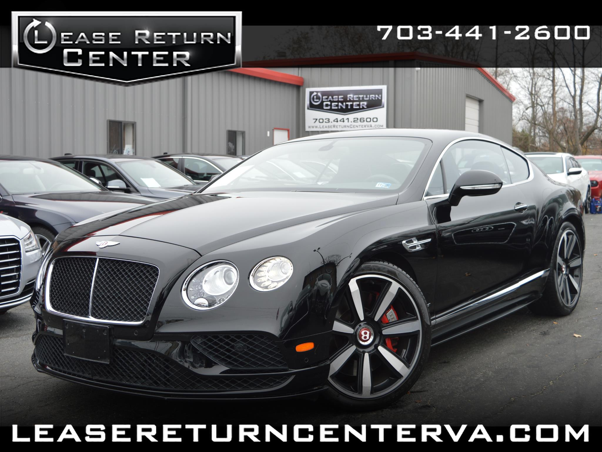 Bentley Continental GT 2dr Cpe V8 S 2016