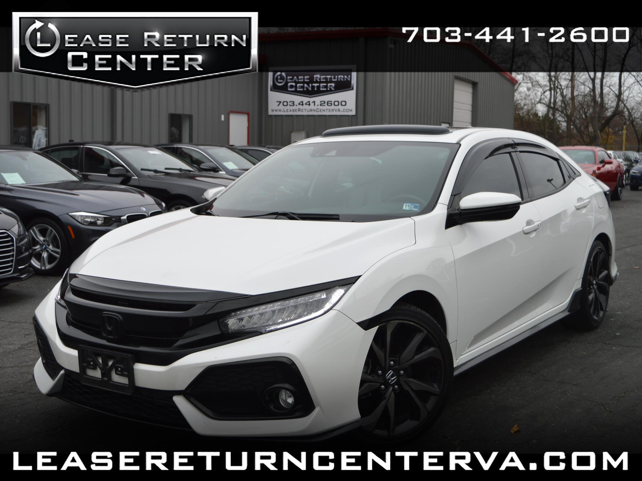 Honda Civic Hatchback Sport Touring CVT 2017