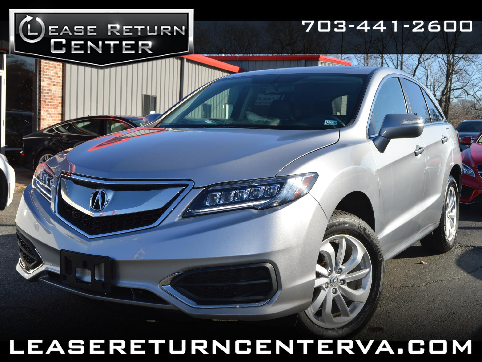Acura RDX AWD w/Technology/AcuraWatch Plus Pkg 2017