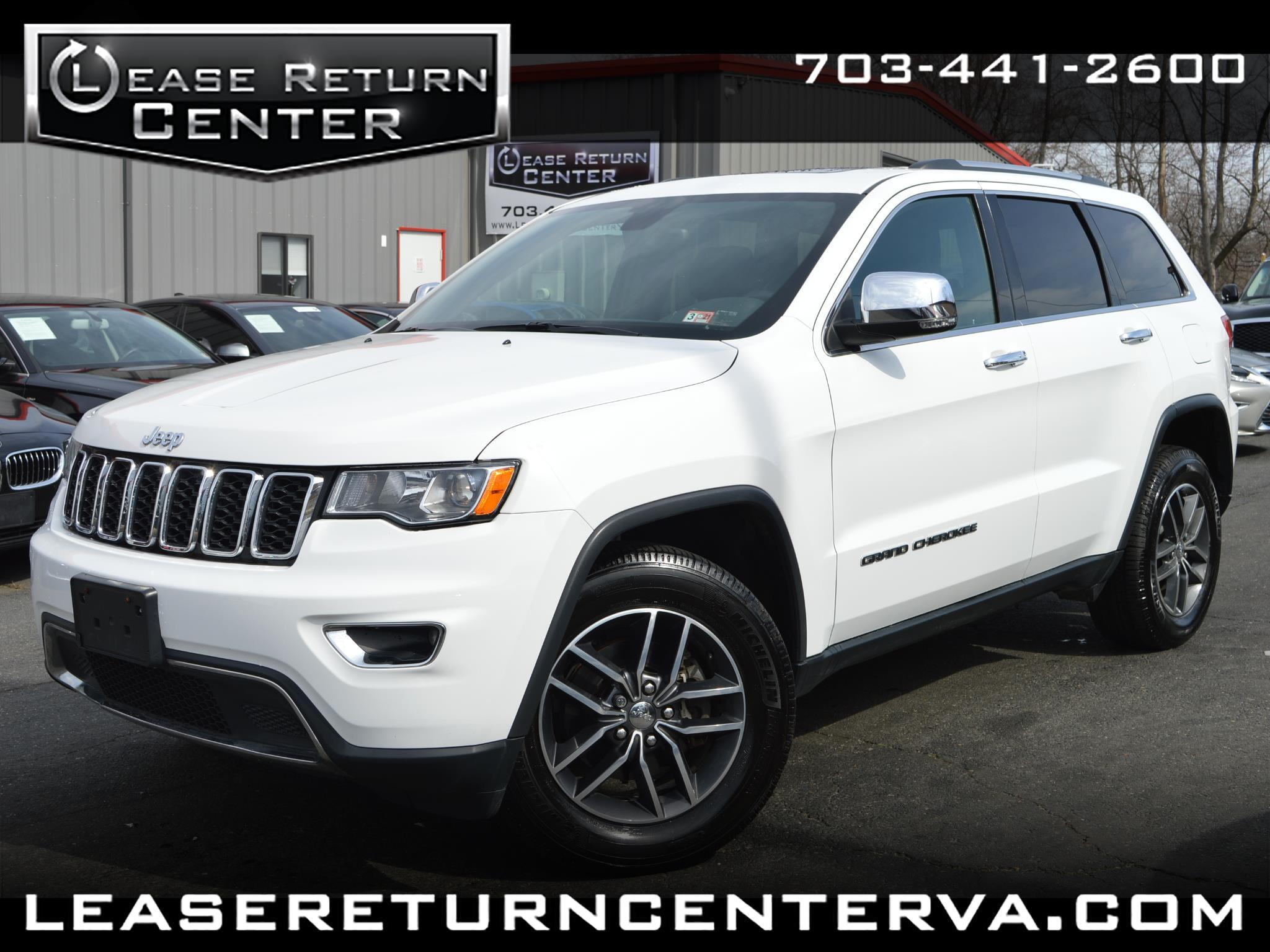 Jeep Grand Cherokee Limited 4x4 2017