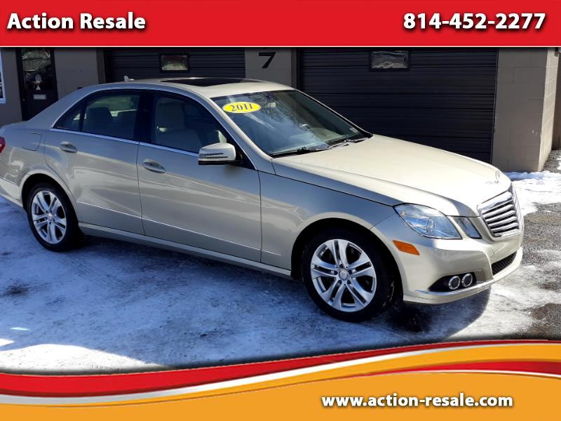 Mercedes-Benz E-Class E350 Sedan 4MATIC 2011