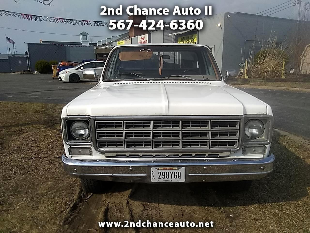 1979 Chevrolet C/K 10 Regular Cab 4WD