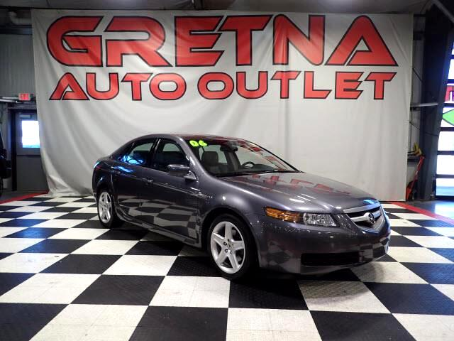 2006 Acura TL 1 OWNER AUTO 3.2L V6 HEATED LEATHER NAV ROOF 112K!