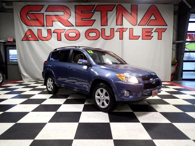 2012 Toyota RAV4 LIMITED 4X4 HEATED LEATHER MOONROOF BACK CAM 98K!