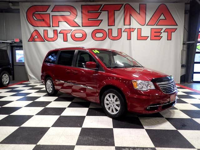 2014 Chrysler Town & Country 1 OWNER TOURING AUTO V6 HEATED LEATHER 71K DVD!