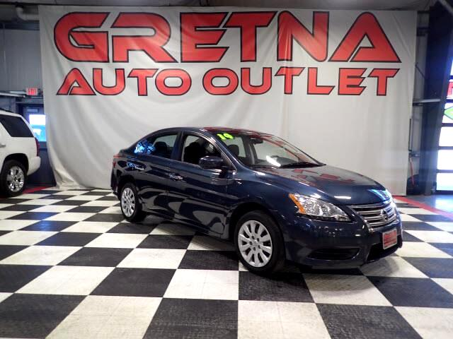 2014 Nissan Sentra S 1.8L 4 CYLINDER AUTO SEDAN LOW MILES ONLY 35K!