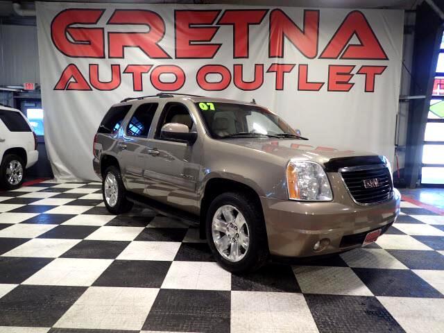 2007 GMC Yukon SLT 4X4 AUTO V8 HEATED LEATHER QUADS MOONROOF!