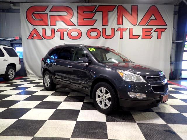 2009 Chevrolet Traverse LT AWD HEATED LEATHER MOONROOF BACK UP CAMERA!