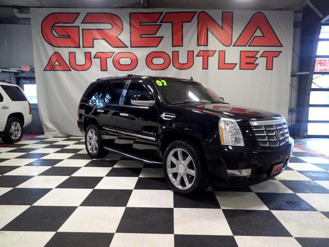 2007 Cadillac Escalade AWD HEATED LEATHER QUADS NAV/ROOF/REAR DVD!!