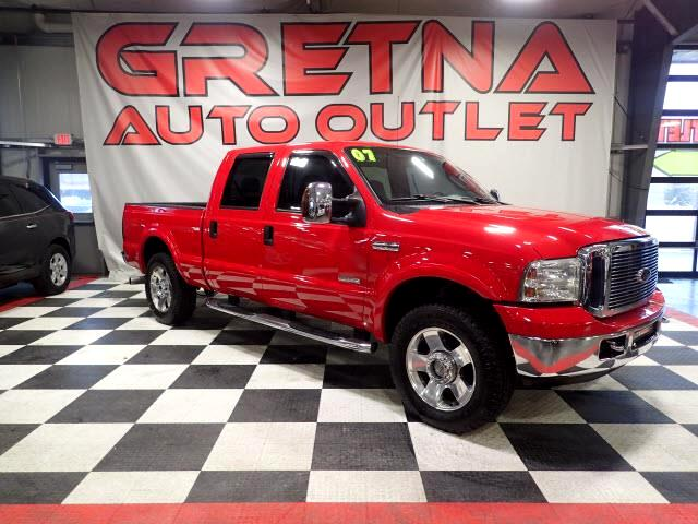 2007 Ford F-250 SD LARIAT CREW 4X4 POWER STROKE DIESEL LEATHER 138K!