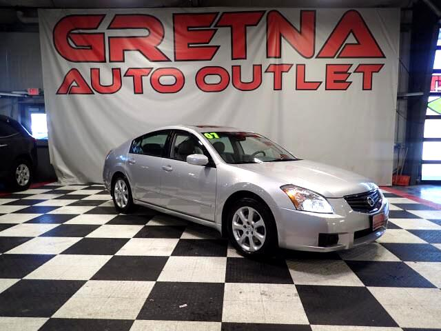 2007 Nissan Maxima SL AUTO V6 SEDAN HEATED LEATHER MOONROOF 85K!