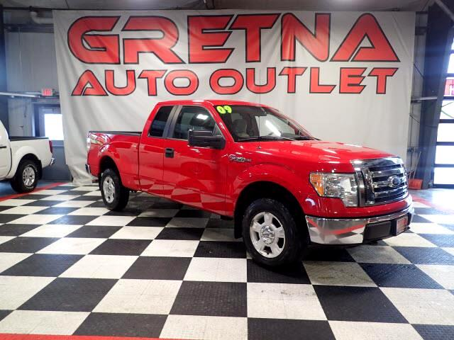 2009 Ford F-150 XLT EXTENDED CAB 4X4 5.4L TRITON V8 LOW MILES 120K