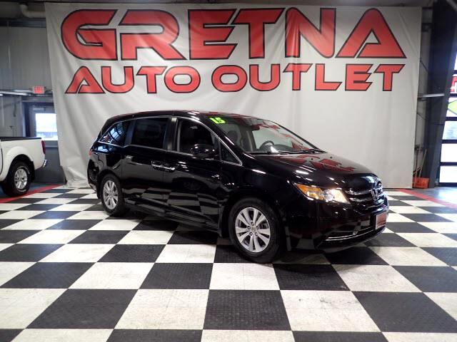 2015 Honda Odyssey 1 OWNER EX-L LOW MILES 84K NAV/LEATHER/MOONROOF!
