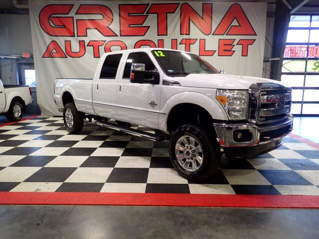 2012 Ford F-350 SD LARIAT 1 TON CREW AUTO TURBO DIESEL V8 LEATHER 62K