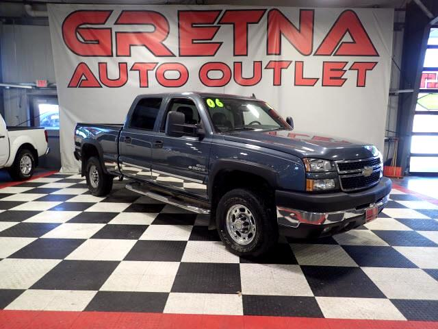 2006 Chevrolet Silverado 2500HD LT AUTO 6.6L DURAMAX TURBO DIESEL 4X4 LEATHER 112K