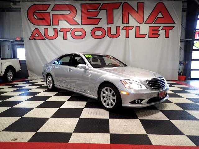 2008 Mercedes-Benz S-Class S550 4MATIC AWD AUTO V8 SEDAN 84K EVERY OPTION!