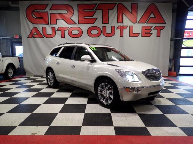 2012 Buick Enclave AWD HEATED/COOLED SEATS! ROOF! REAR DVD! BACK CAM!